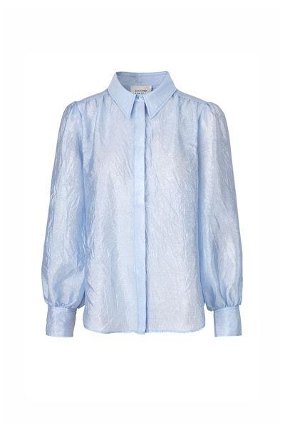 Rosalina LS Shirt Lyseblå