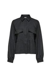 Cameron LS Shirt Mørkegrå melert