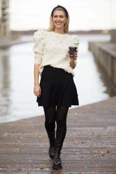 Try alpaca sweater Hvit