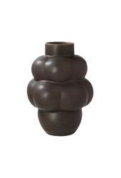Ceramic Balloon Vase Mud Brown