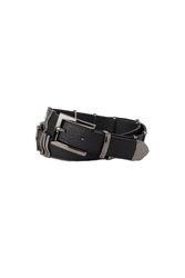Rattle belt Black gun metal