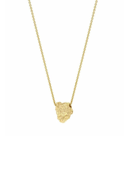 Grit Erosion Necklace Gull