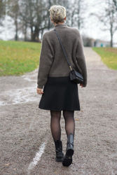 Jemaja Long Skirt Sort