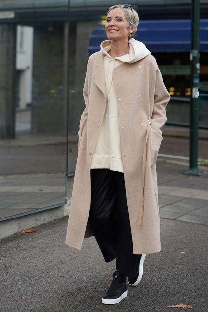 Agnes wool Coat Lys kamel