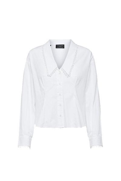 Romance LS Shirt Hvit