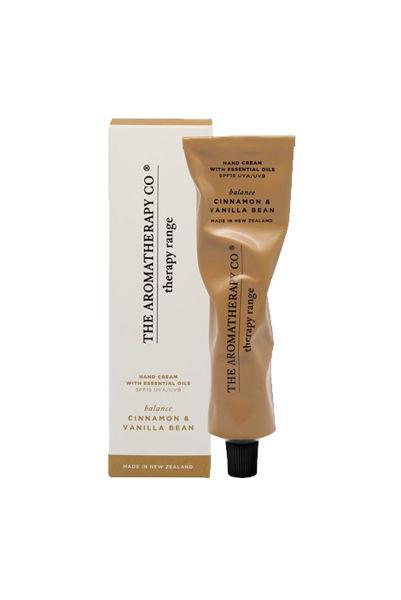 Therapy Hand Cream Balance 75ml Cinnamon & Vanilla Bean
