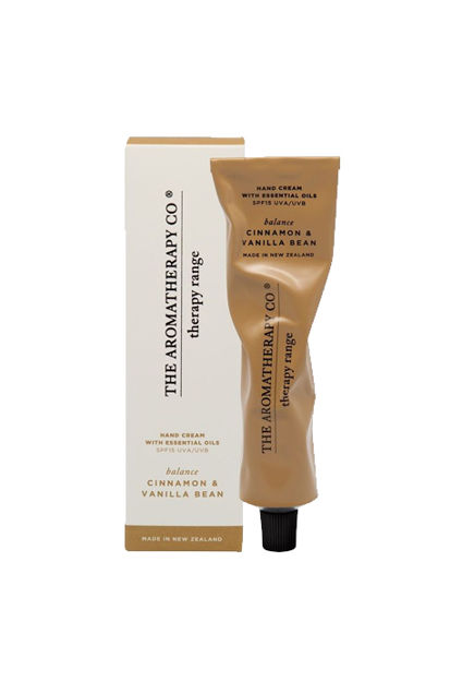 Therapy Hand Cream Balance 75ml Cinnamon & Vanilla Bean
