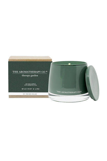 Therapy Candle Garden Wild Mint & Lime