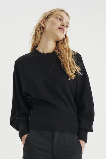 Yasmine Firm Pullover Sort