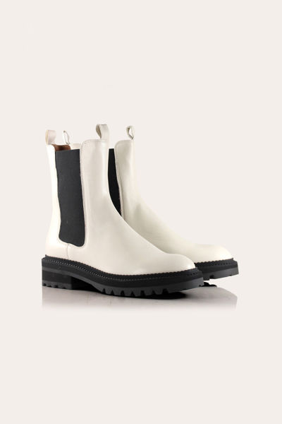 Sia Boots Offwhite