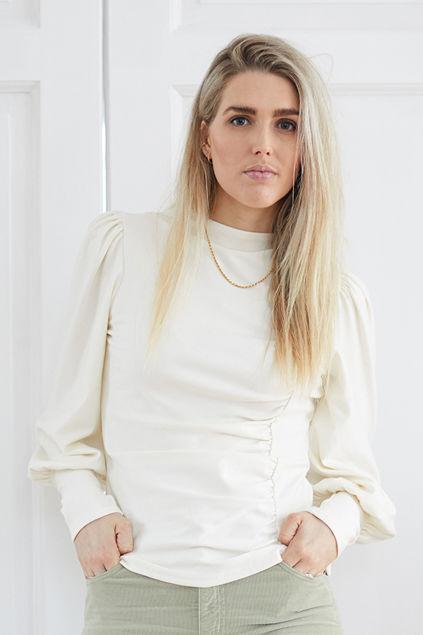 Rifa puff blouse Offwhite