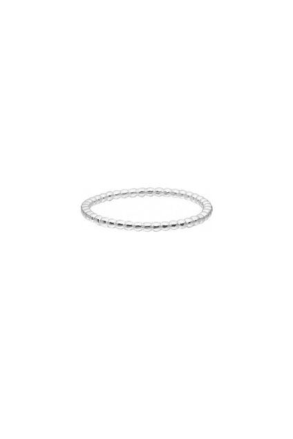 Simple bubble ring Sølv