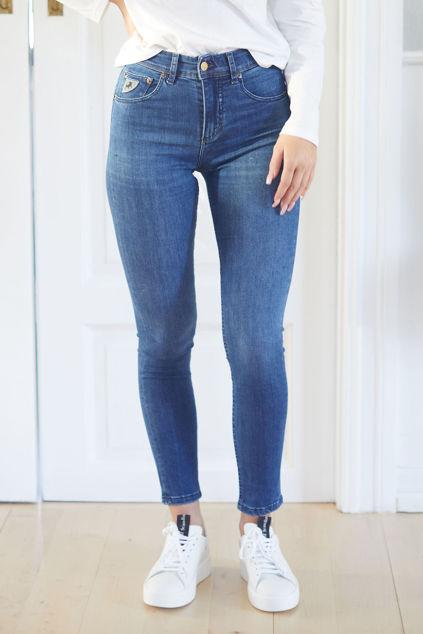 Celia Leia Teal Mørk jeansblå