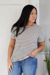 Alma T-Shirt Grønnstripet