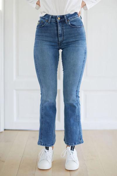 Malena-F Re Ram Cobalt Jeansblå