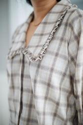 Reese Shirt Beigerutet