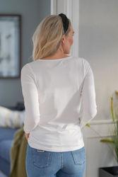 Bree LS Off-white