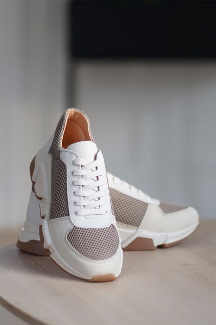 Orio Sneakers Latte/Taupe