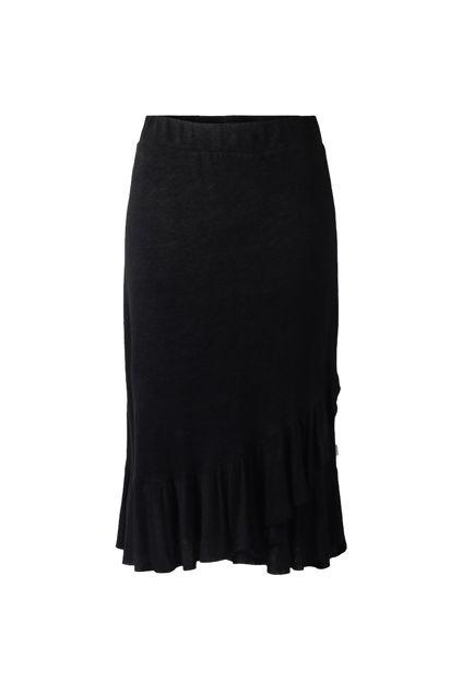 Jae linen skirt Sort