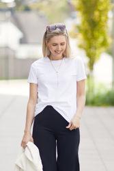 Tina T-shirt Hvit