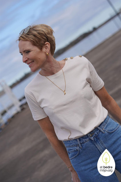Thalia T-shirt Lys beige