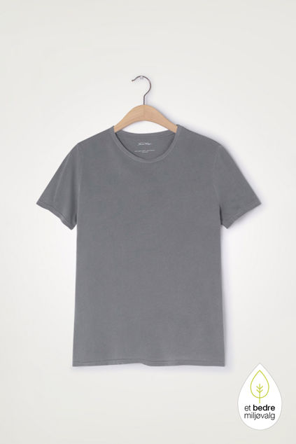 Vegiflower T-Shirt Koksgrå