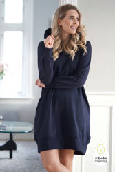 Claire dress Navy