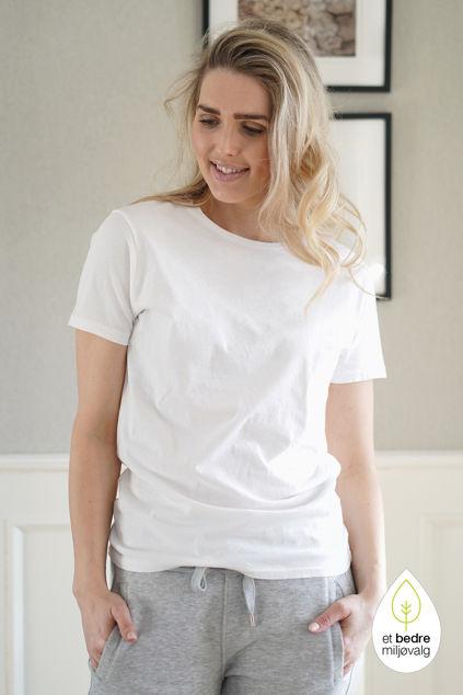 Vegiflower T-Shirt Hvit