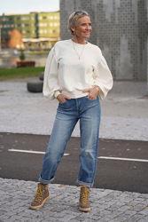 Esraa JE Jeansblå