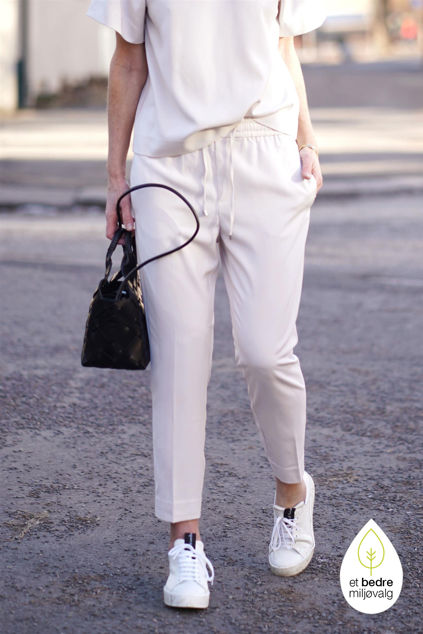 Adia Pull On Pant Off-white