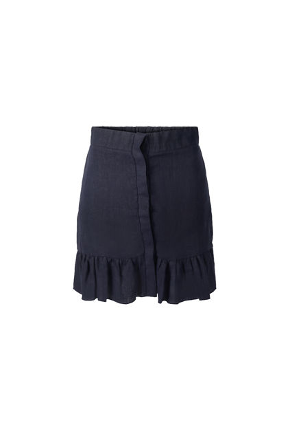 Hana linen skirt Navy