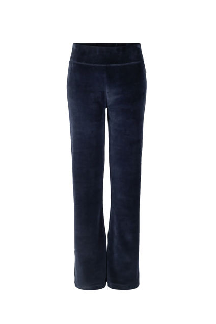 Mona velour pants Navy