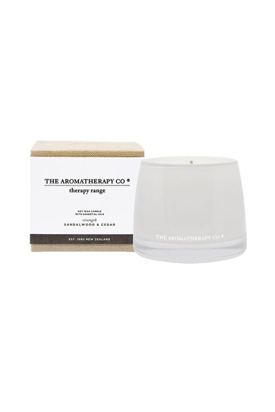 Therapy Candle Strength Sandalwood & Cedar
