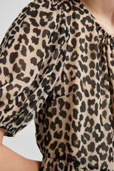 Tilda 2/4 Midi Dress Leopard