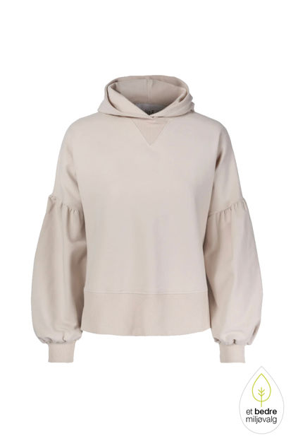 Belle hoodie Beige