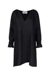 Sam linen dress Sort
