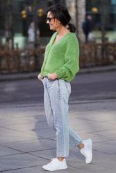 Vogbay Cardigan Gressgrønn