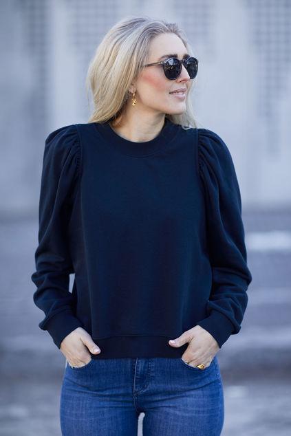 Oriana Sweat Mørkeblå