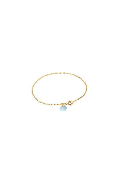 Ball Chain Bracelet Lyseblå