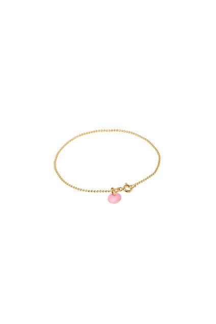 Ball Chain Bracelet Lys rosa