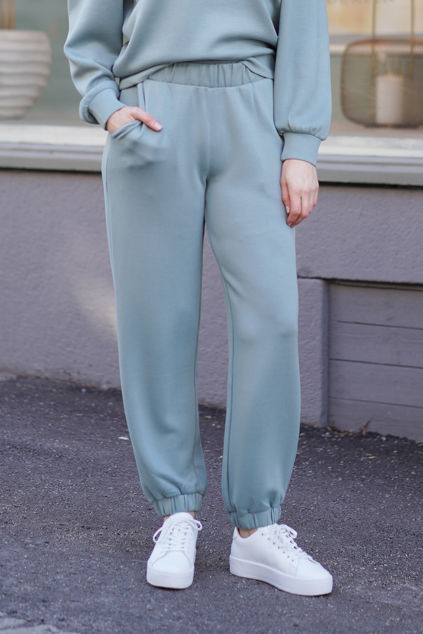 Ima Sweat Pants Chinois Green