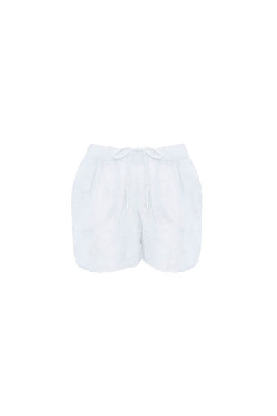 Bibbi shorts Hvit