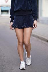 Hay velour shorts Navy