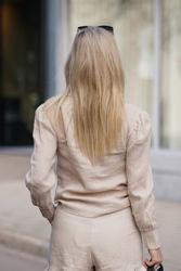 Hedda linen shirt Beige
