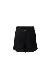 Mynthe linen shorts Sort