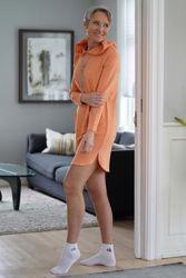 Whitney Hood Dress Oransje