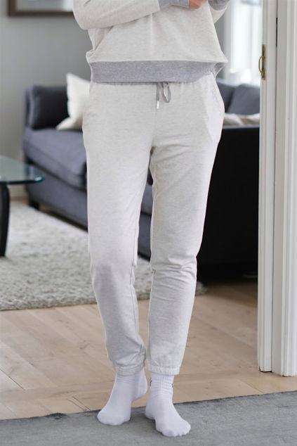Wanda Track Pants Lys gråmelert
