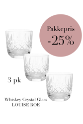 3-pack Whiskey Clear