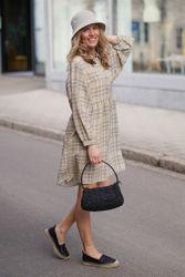 Judith Mini Dress Gulrutet
