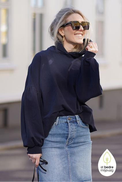 Belle hoodie Marineblå